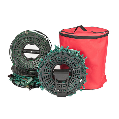 install n store christmas light storage bag - Christmas Light Storage Reels