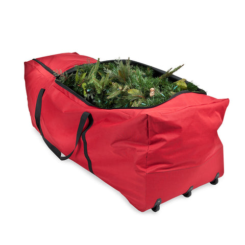 basic large tree storage bag with wheels - Christmas Tree Bag Storage