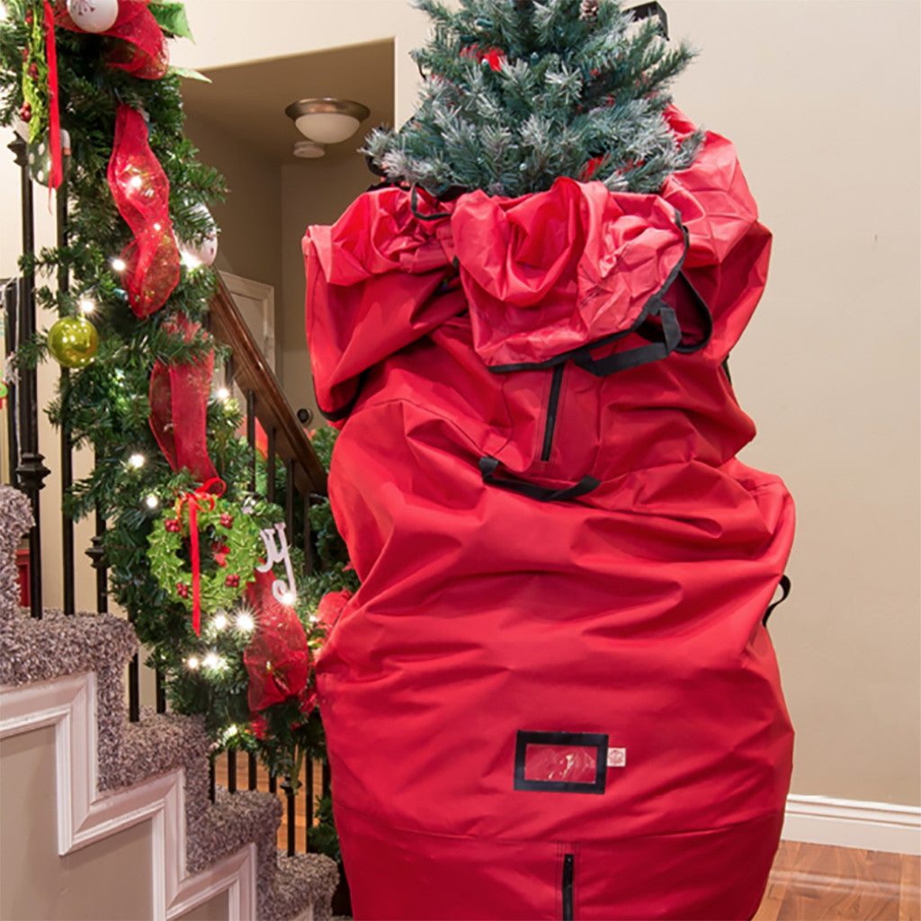 Red Hot Return Basic Upright Tree Bag Fits Trees Up Tp