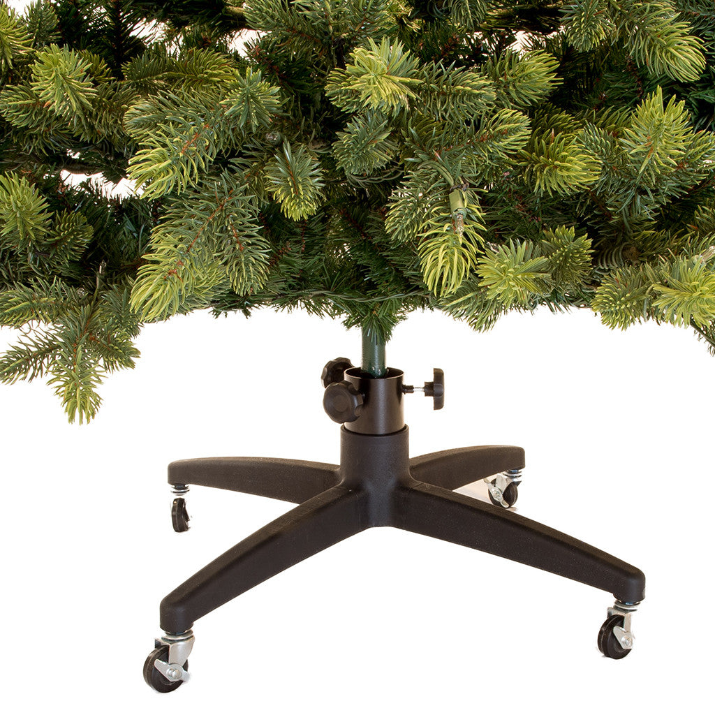 Christmas Tree Stand.Red Hot Return 31 Rolling Artificial Christmas Tree Stand