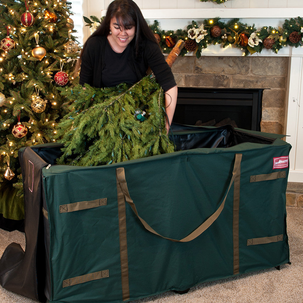 Greens Keeper Extra Large Christmas Tree Bag TK-10773-RS 10ft-12ft ...