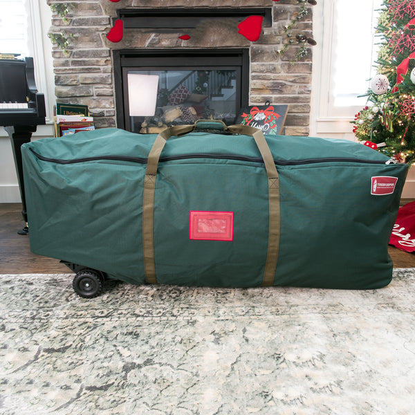 7a7e72a10f Tree Duffel Artificial Christmas Tree Storage Bag w  Wheels 10689 ...
