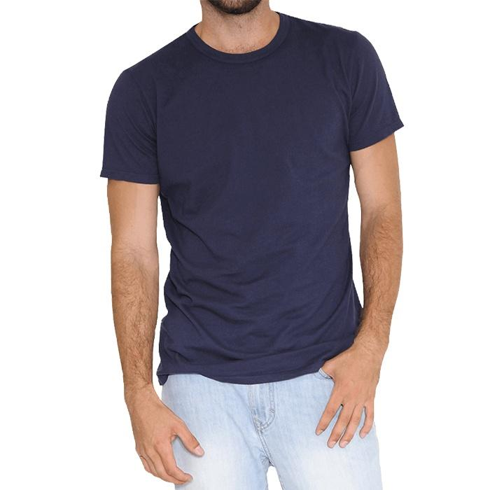 Men's Crew Neck T-Shirt with Binding