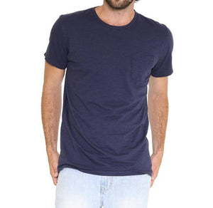 Men's Crew Neck Pocket T-Shirt