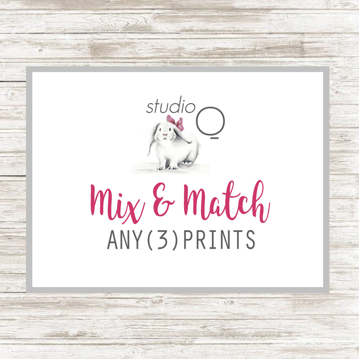 Mix and Match Sets