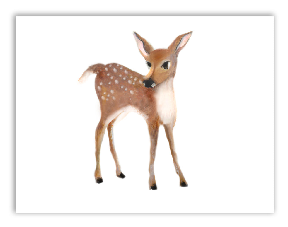 Deer Nursery Art Print - Studio Q - Art by Nicky Quartermaine Scott