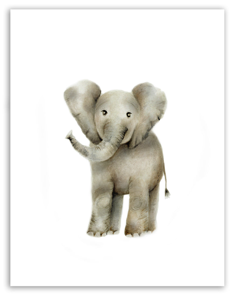 Elephant Nursery Art Print - Studio Q - Art by Nicky Quartermaine Scott