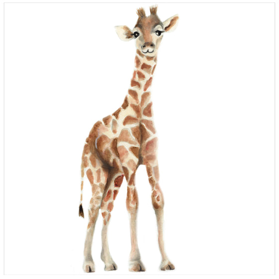 Giraffe Nursery Art Print - Studio Q - Art by Nicky Quartermaine Scott