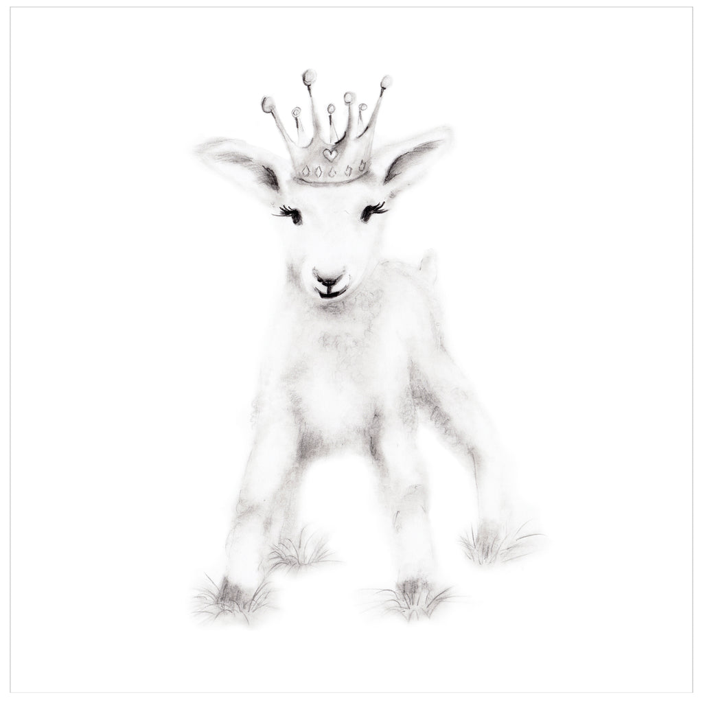 Goat Nursery Art Print - Studio Q - Art by Nicky Quartermaine Scott