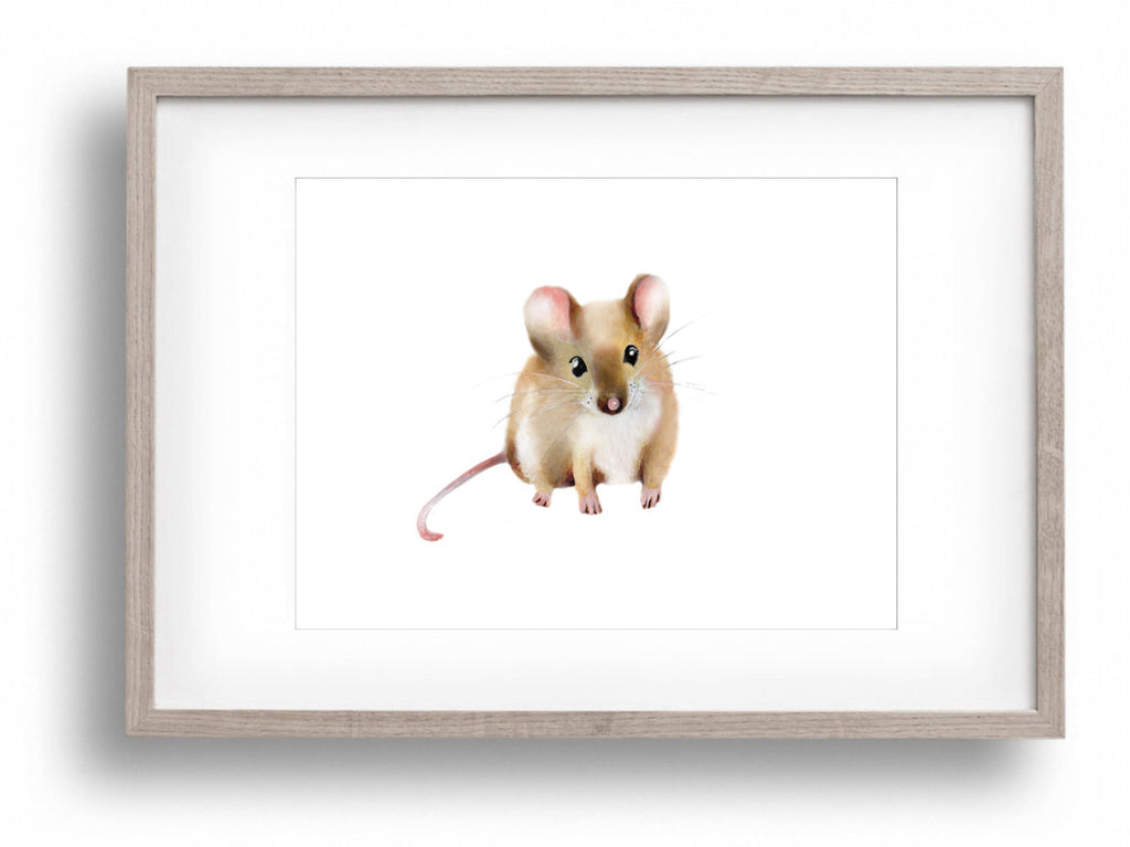 Mouse Nursery Art Print - Studio Q - Art by Nicky Quartermaine Scott