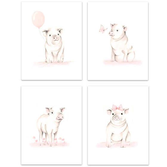 Pig Nursery Art Prints