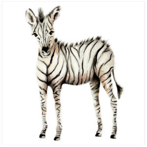 Zebra Nursery Art Print - Studio Q - Art by Nicky Quartermaine Scott