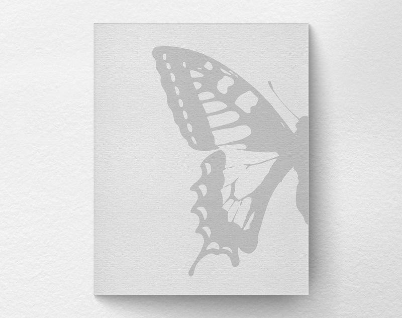 2 Piece Butterfly Art Print left side - Loftipop