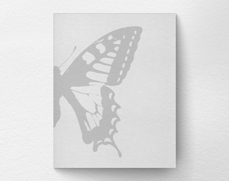 2 Piece Butterfly Art Print right - Loftipop