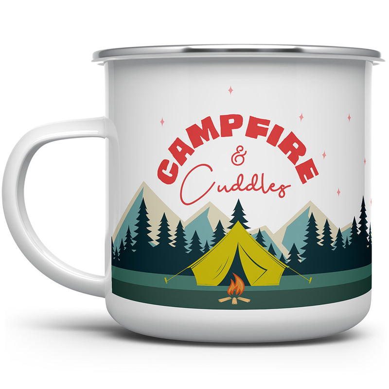 Campfire and Cuddles Camp Mug