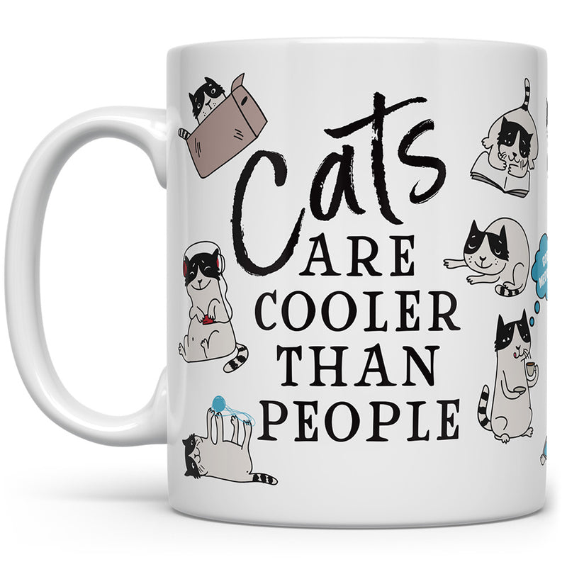 Cats Are Cooler Than People Mug