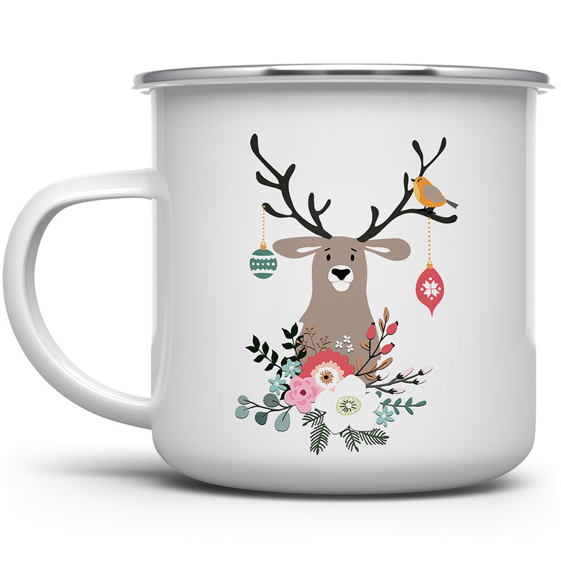 Christmas Deer Camp Mug
