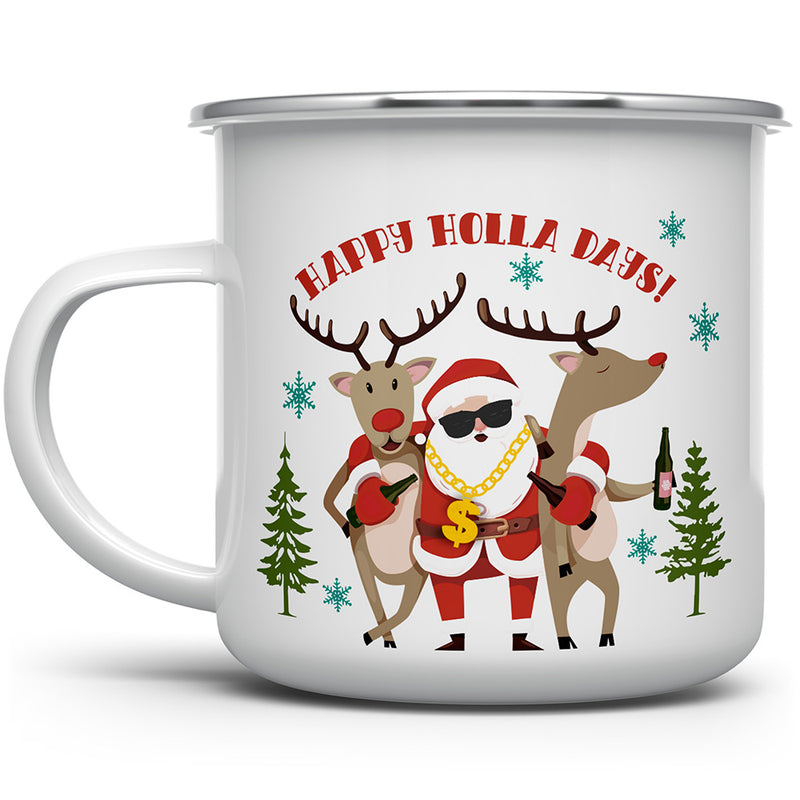 Happy Holla Days Camp Mug