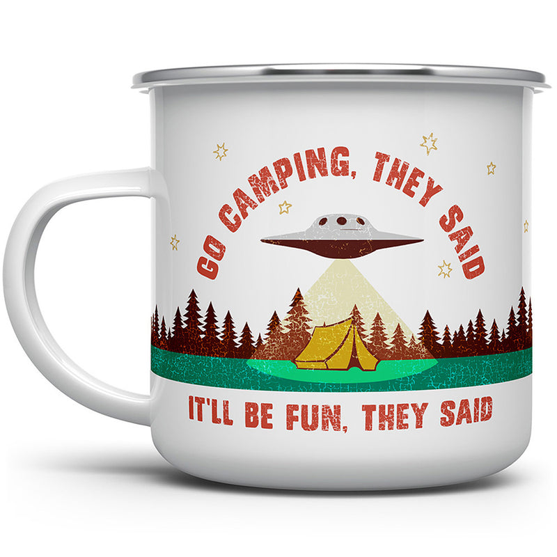 Go Camping They Said Camp Mug