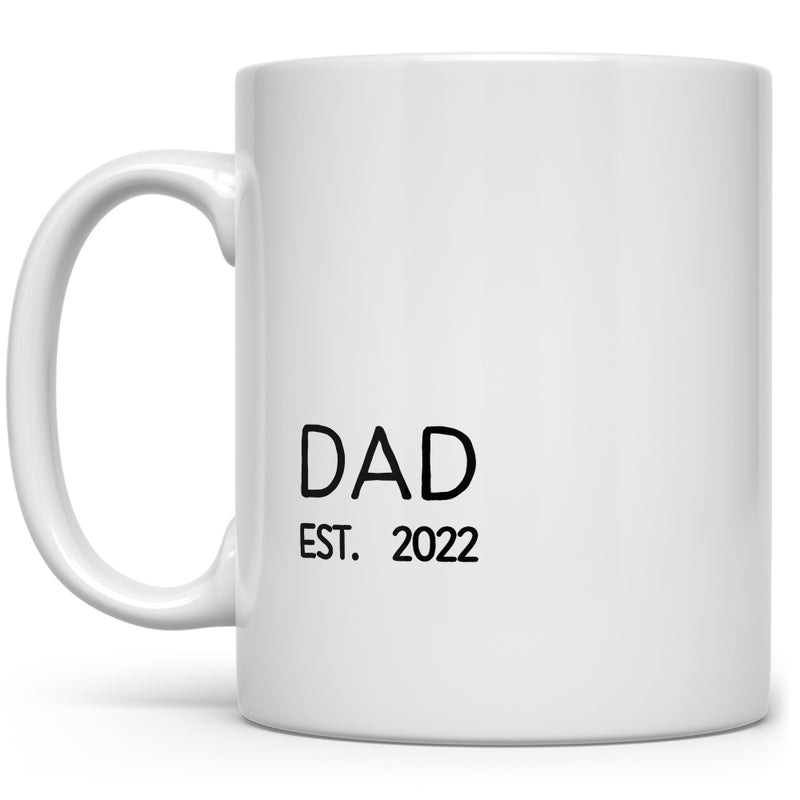 Custom Year Dad Est. Mug