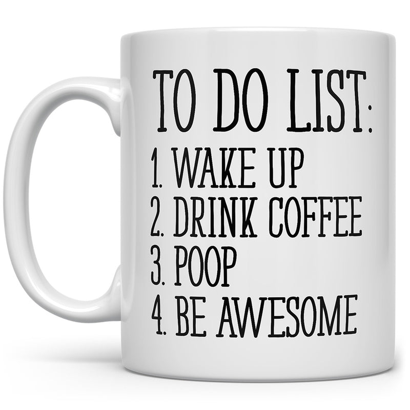 To Do List Mug