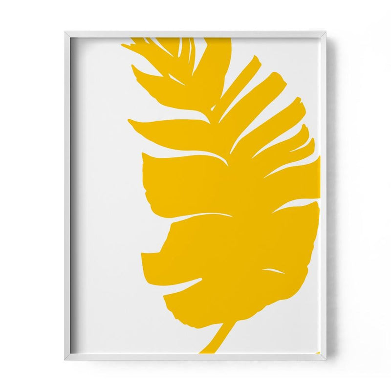 Banana Palm Leaf Art Print - Loftipop
