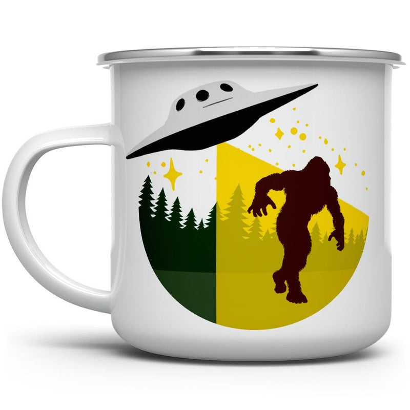 Bigfoot Abduction Camp Mug - Loftipop