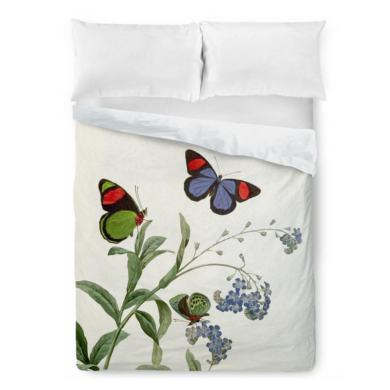 Botanical Butterfly Duvet Cover - Loftipop