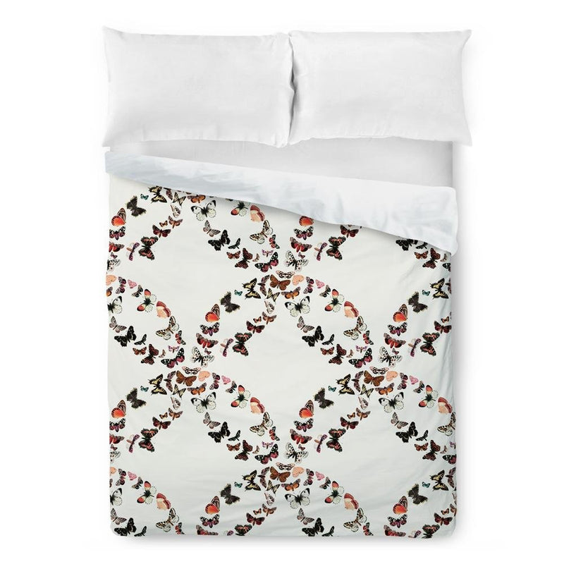 Butterfly Pattern Duvet Cover - Loftipop