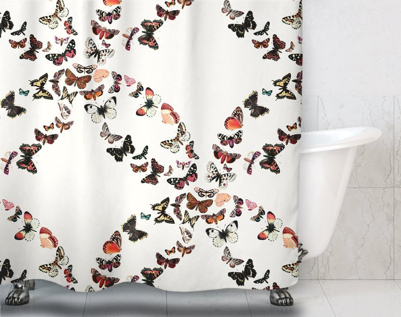 Butterfly Shower Curtain - Loftipop