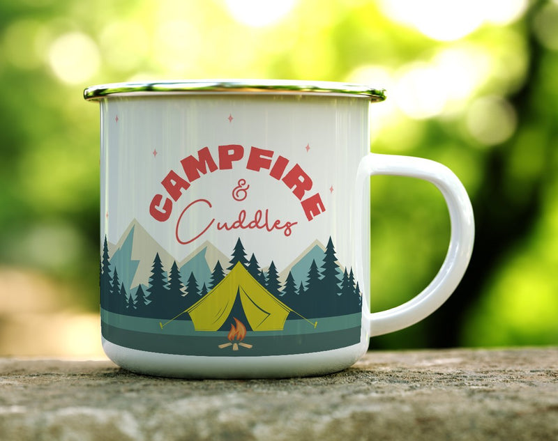 Campfire and Cuddles Camp Mug - Loftipop