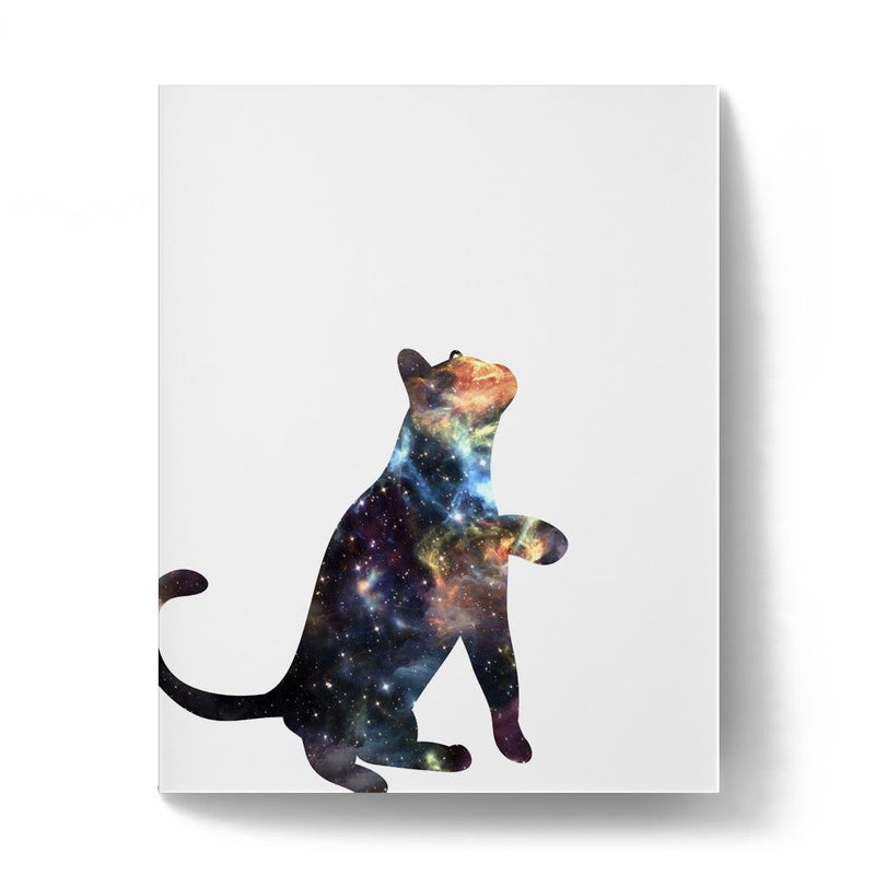 Cosmic Cat Art Print - Loftipop