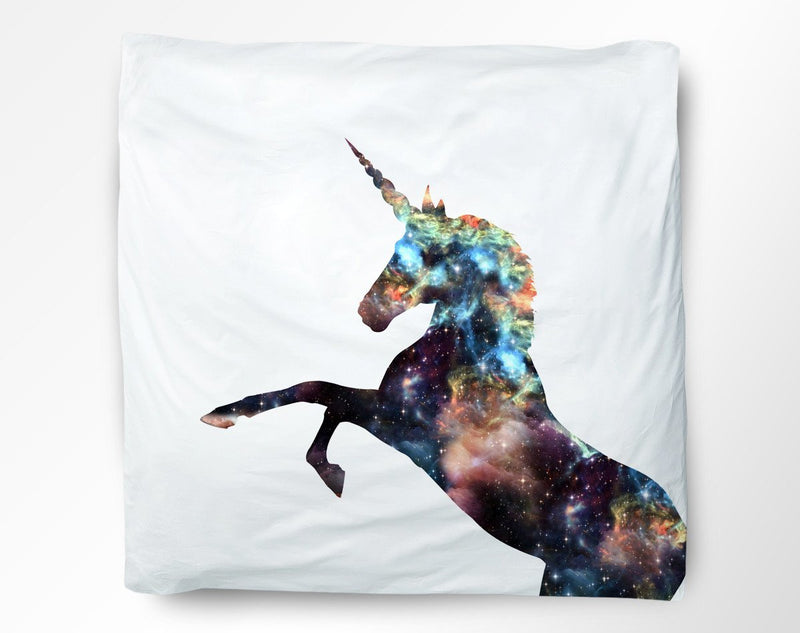 Cosmic Unicorn Duvet Cover - Loftipop
