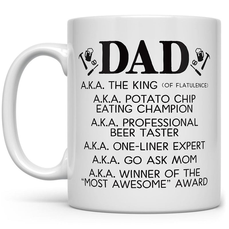 Dad a.k.a Mug - Loftipop
