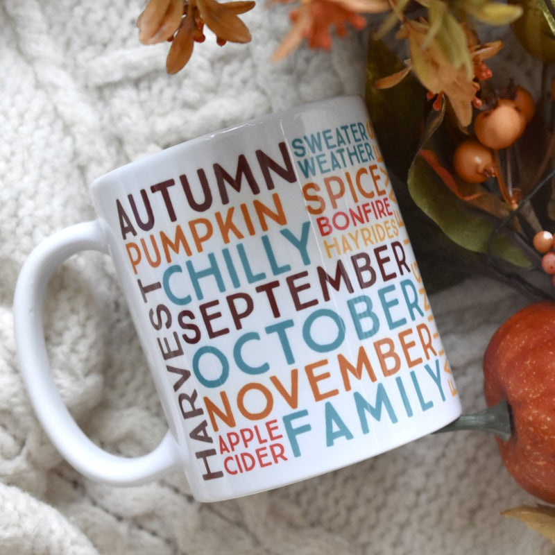 Fall Autumn Mug - Loftipop