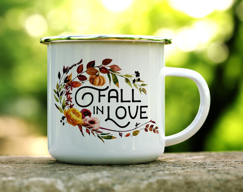 Fall in Love Camp Mug - Loftipop