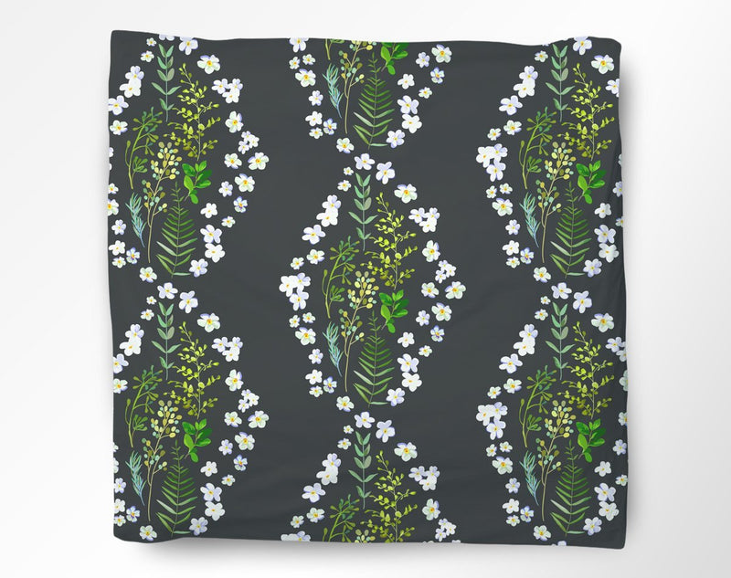 Floral DNA Duvet Cover - Loftipop