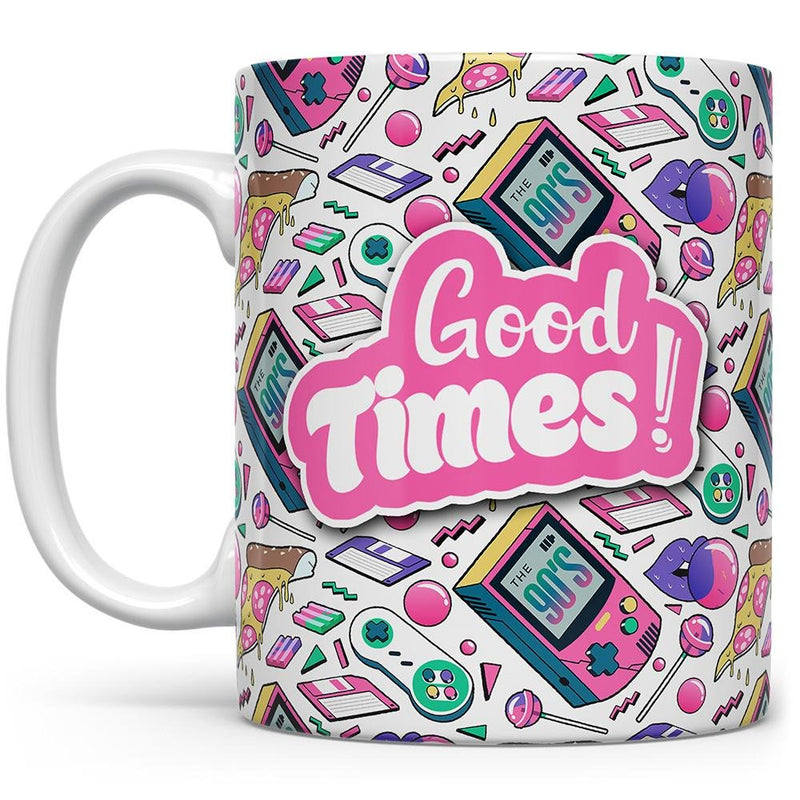 Good Times 1990's Retro Coffee Mug - Loftipop