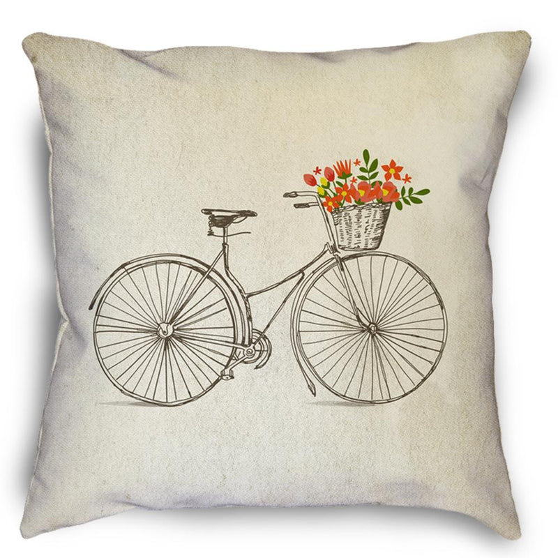 Happiness Bicycle Pillow - Loftipop