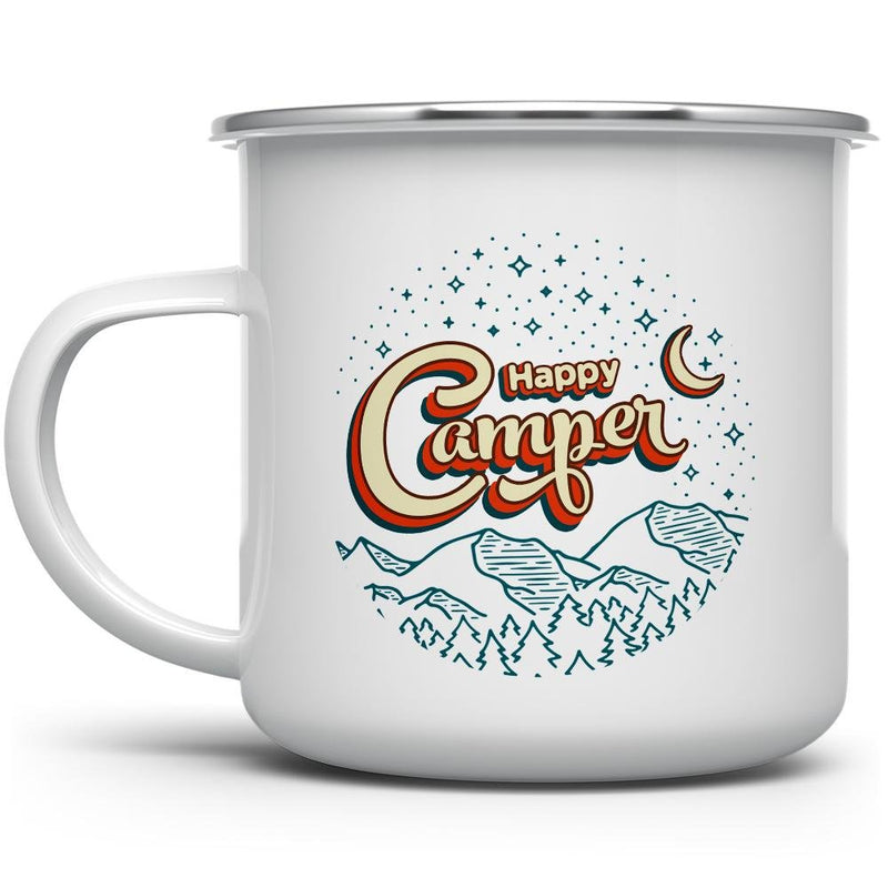 Happy Camper Camp Mug - Loftipop