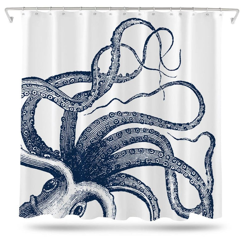 Octopus Tentacles Shower Curtain - Loftipop