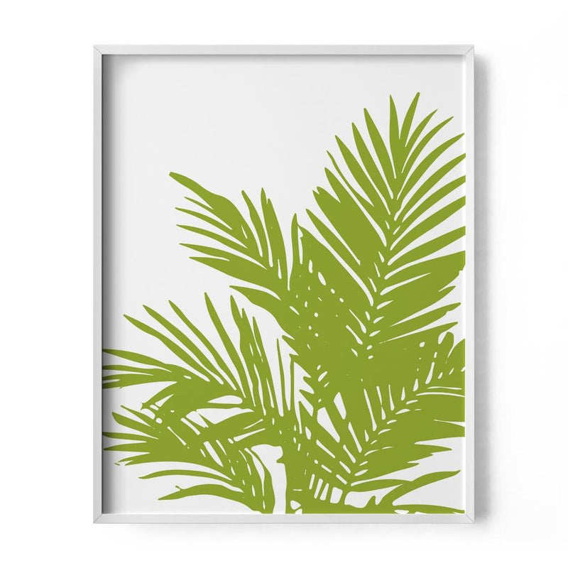 Palm Fern Art Print - Loftipop