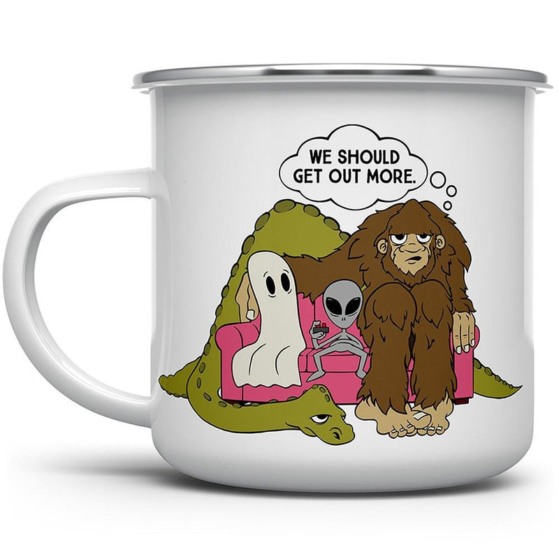 Paranormal Squad Camp Mug - Loftipop