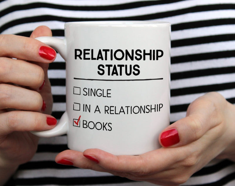 Relationship Status Book Mug - Loftipop