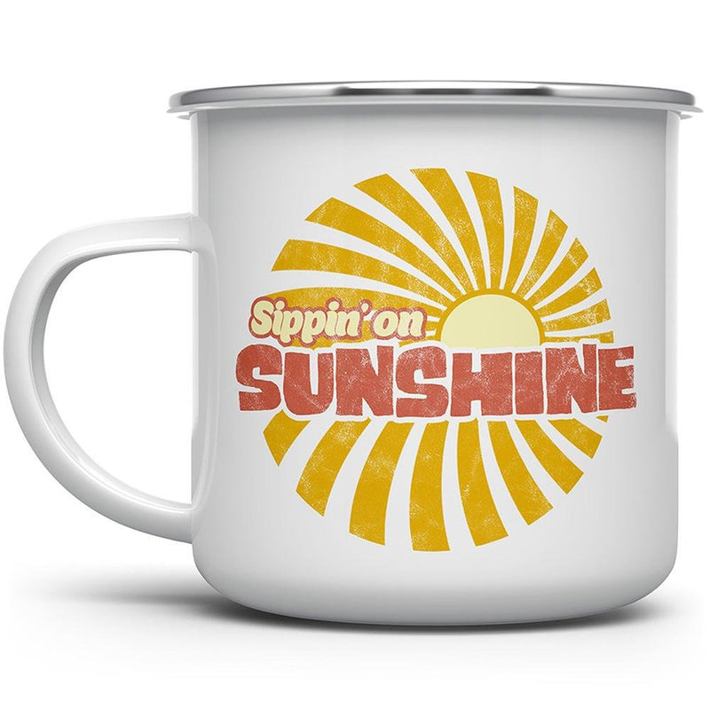 Sippin' On Sunshine Camp Mug - Loftipop