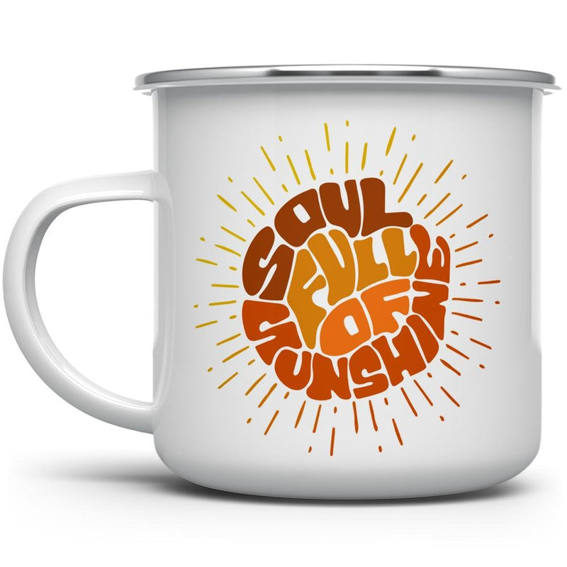 Soul Full of Sunshine Camp Mug - Loftipop