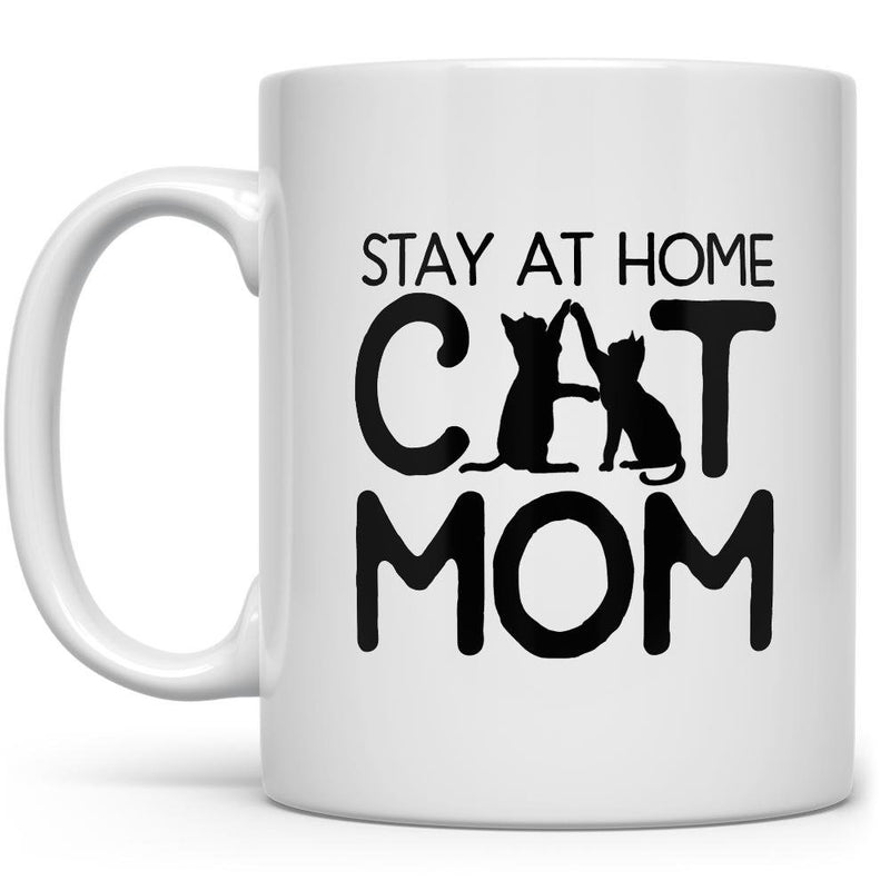 Stay at Home Cat Mom Mug - Loftipop