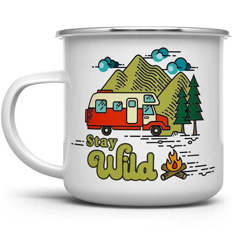 Stay Wild Camp Mug - Loftipop