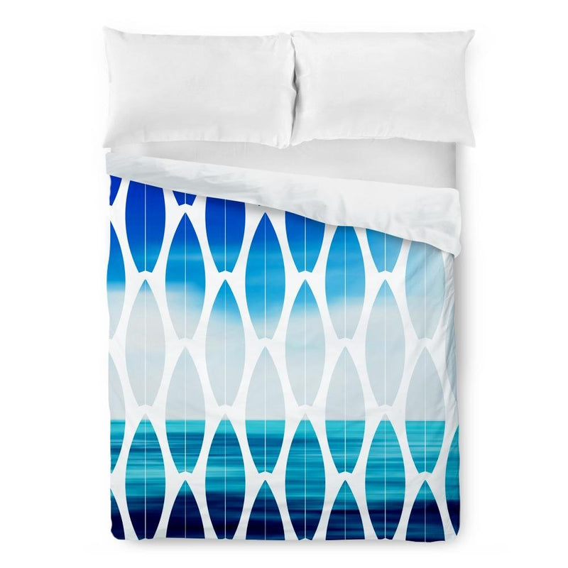 Surfboard Beach Duvet Cover - Loftipop