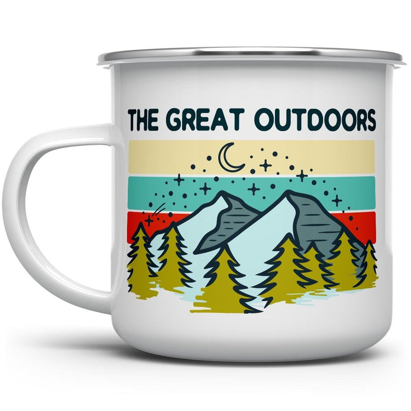 The Great Outdoors Camp Mug - Loftipop